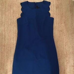 Royal Blue J. Crew Dress